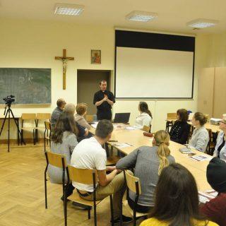 listopadowe spotkanie wolontariuszy
