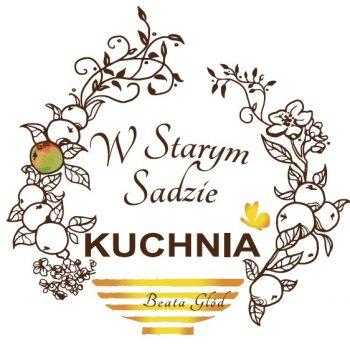 """Logo restauracji """"Kuchnia w starym sadzie"""""""