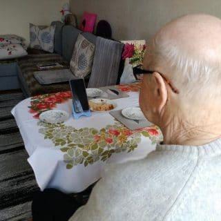 aktywny senior w czasie kwarantanny