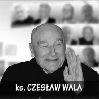 zmarł ks. czesław wala