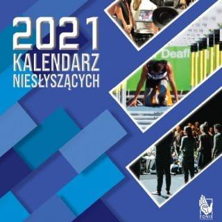 Kalendarz Niesłyszących 2021 okładka