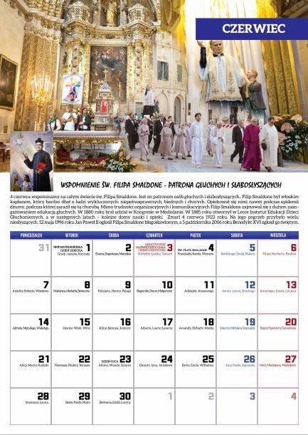 czerwiec 2021 - Kalendarz Niesłyszących 2021