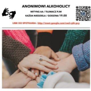 Wspólnota AA – spotkania tłumaczone na PJM