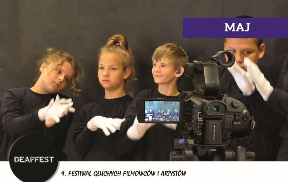 Festiwal Gluchych Filmocow i Artystow - Festiwal Głuchych Filmowców i Artystów