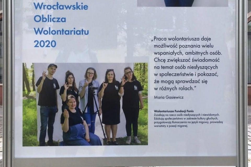 Wroclawskie Oblicza Wolontariatu – otwarcie wystawy 8 - Wrocławskie Oblicza Wolontariatu – otwarcie wystawy