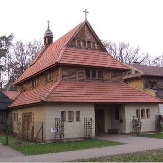 Kaplica Centralna w Ośrodku dla Niewidomych w Laskach